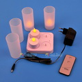 Model:HDA-02B   Name:LED rechargeable candle with remote