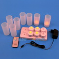 Model:HDA-04B  Name:LED rechargeable candle with remote