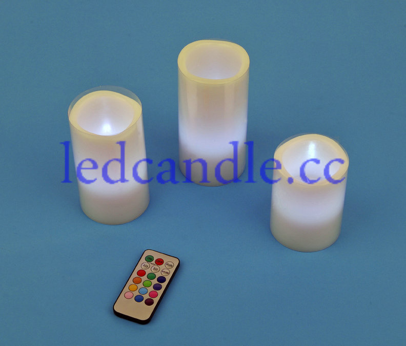 This is LED electronic candle lights, it is very likely to real candle, but it use LED as lights source